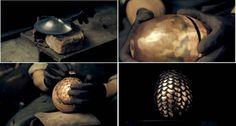 Artista demonstra como fazer os Ovos de Dragão de Game of Thrones