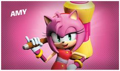 Amy from sonic boom! She also has a new piko hammer! Hedgehog Game, Hedgehog Movie, Sonic The Hedgehog, Video Game Development, Software Development, Sonic Boom Amy, Cloverfield 2, Old School Cartoons, Eggman