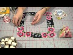 How to Make a Hankie Flower Brooch, from Indygo Junction--tutorial.