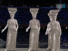 2004 Olympic Games Athens  Opening Ceremony 2004 Olympics, Summer Olympics, Greece Tours, Greek Art, Greek Life, Opening Ceremony, Olympic Games, Athens, Vip