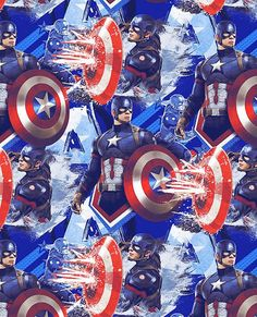 FAT QUARTER  MARVEL BLACK PANTHER ALLOVER FABRIC AVENGERS SUPERHERO QUILTING FQ