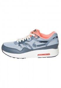 Goedkoop Hardloopschoenen Nike Air Max 1 Comfort Premium Tape Dames Neon Roze Lt Arsenaal Blauw /