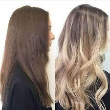 light brown balayage on dark hair ile ilgili görsel sonucu