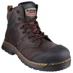 Dr Martens Surge ST Brown Safety Boots