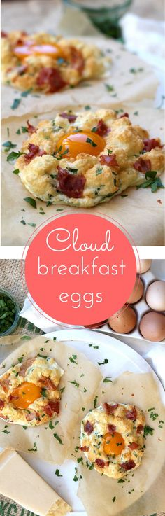 Cloud breakfast eggs! Forget fried, try these this weekend. Ready in just 10 minutes. Quick and simple. | www.alifeofgeekery.co.uk