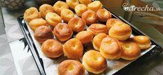 Nadýchané šišky (fotorecept) - recept | Varecha.sk Ale, Peach, Fruit, Food, Basket, Ale Beer, Essen, Peaches, Meals