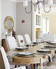 3 Steps to a Stylish Neutral Dining Room  - HouseBeautiful.com