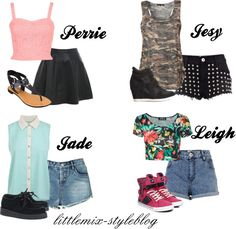 """*REQUESTED* LM Inspired for 1D concert in July"" by little-mix-fashion ❤ liked on Polyvore"