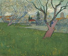 Vincent van Gogh - Orchards in Blossom [1889]