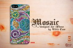 unique iphone 4 case mosaic iphone 5 case cool iphone by UltraCase, $11.99