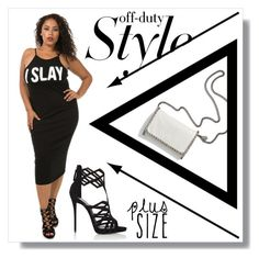 Plussizeforless by plussizeforless on Polyvore featuring polyvore fashion style Giuseppe Zanotti STELLA McCARTNEY clothing