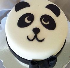 Panda cake! Para tu próximo cumple @Vicky Lee Guazzone di Passalacqua More