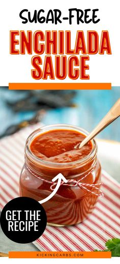 You don't want to miss this easy Keto Enchilada Sauce. It is going to become a go-to recipe in your low carb diet. Ketogenic Recipes, Diabetic Recipes, Low Carb Recipes, Real Food Recipes, Keto Sauces, 3 Ingredient Recipes, Enchilada Sauce, Recipes For Beginners, Low Carb Diet