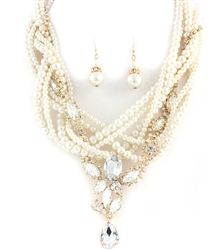 THE GATSBY NECKLACE SET