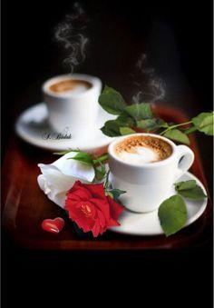 Coffee for two Coffee Snobs, Coffee Cafe, Coffee Humor, Coffee Drinks, My Coffee, Good Morning Coffee, Coffee Break, Bon Mardi, Coffee Flower