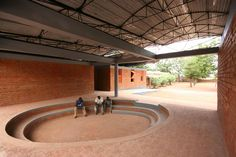 Kéré Architecture :: Secondary School / Dano / Burkina Faso