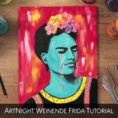 Kahlo Paintings, Frida Art, Pour Painting, Fall Flowers, Art Sketchbook, Cute Drawings, Diy Art, Canvas Art, Sketches