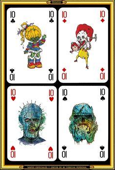Special cards - Naipes especiales