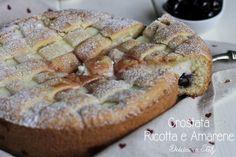 Un dolce classico,così cremoso che è impossibile resistere..la Crostata Ricotta e Amarene è davvero molto semplice da preparare :)