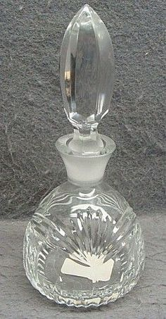 waterford crystal perfume bottle - Google Search