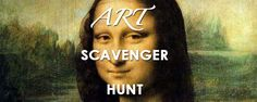 This Art Scavenger Hunt list is a brilliant way to get kids familiar with luminaries of art history, the genres their works belong to and an appreciation for the emotions and ideas that art can evoke.
