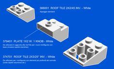 IKEA Ribba Hack - LEGO Minifigures Display Frame Tutorial 3 - Tiles - Clicca per ingrandire l'immagine