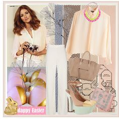 Happy Easter, created by zoenian on Polyvore