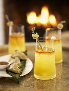 205 best New Year s Cocktails images on Pinterest   Christmas     Ming Tsai Chinese New Year  ginger cocktail