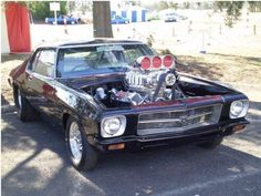 HQ Holden Monaro - List of the most beautiful classic cars Australian Muscle Cars, Aussie Muscle Cars, American Muscle Cars, My Dream Car, Dream Cars, Holden Kingswood, Hq Holden, Holden Muscle Cars, Holden Monaro