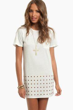 Like It Like Dot Dress $33 at www.tobi.com