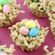 Chow Mein Noodle Easter Nests by MissCandiQuik