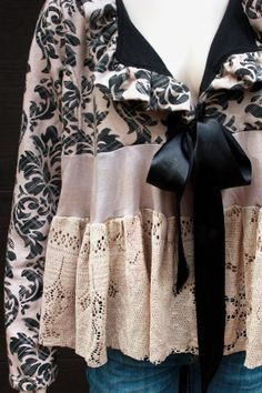 Junk GYpSy Decorating Style | Romantic Jacket, Shabby Chic, Junk Gypsy Style