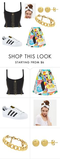 """""""M 14"""" by fadiamanzur on Polyvore featuring moda, Moschino, adidas, New Look y Juicy Couture"""