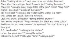 If EXO got drunk