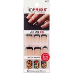 Long Nail Beds, Kiss Press On Nails, Types Of Manicures, Impress Nails, Cute Gel Nails, Popular Nail Art, Organic Nails, Resin Uses, Hand Care