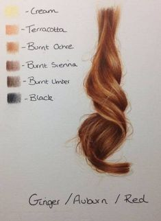 Pencil Portrait Mastery - Hair Colour Palettes by Kirsty Partridge - Discover The Secrets Of Drawing Realistic Pencil Portraits Drawing Techniques, Drawing Tips, Drawing Reference, Drawing Sketches, Pencil Drawings, Art Drawings, Drawing Ideas, Sketching, Horse Drawings