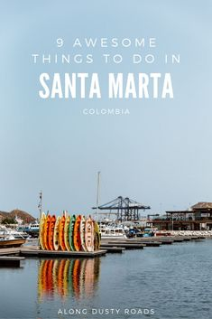 A gateway to the north of Colombia, Santa Marta is a city you're destined to spend at least a night in. Here's nine awesome things to do in Santa Marta! What to do in Santa Marta Backpacking South America, Backpacking Europe, South America Travel, South America Destinations, Top Travel Destinations, Places To Travel, Santa Marta, Tayrona National Park, Stuff To Do