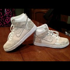 """My daughter """"blinged"""" her hip hop shoes for dance!"""