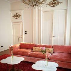Rose interiors. Antwerp. #DeWitteLelie