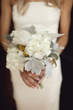 #white, yellow and gray wedding ... Wedding ideas for brides & bridesmaids, grooms & groomsmen, parents & planners ... https://itunes.apple.com/us/app/the-gold-wedding-planner/id498112599?ls=1=8 … plus how to organise an entire wedding, without overspending ♥ The Gold Wedding Planner iPhone App ♥