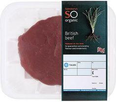 Sainsbury's Organic British Beef Mini Joint (Approx 800g)