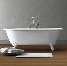 Vintage Imperial Clawfoot Soaking Tub - traditional - bathtubs - - by Restoration Hardware