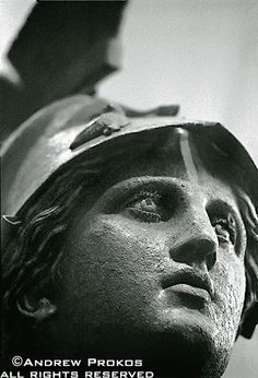 Bronze Athena Statue in Piraeus Museum, Athens - http://andrewprokos.com