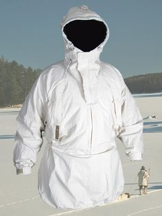 "Empire Canvas Works Arctic Anorak ""Our canvas winter shells are not fashionable. They are not flattering. They are not fitted. They're walking tents with room for air to circulate around your insulation so it can work at maximum efficiency."""