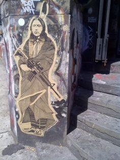 190 Bowery NYC Street Art