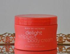 Victoria's Secret Body By Victoria Delight Whipped Body Cream~ Lilac Melon~ Full Size 10.6 oz. RARE!