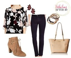 5 fave jeans styles and what to wear them with this fall   Fabulous After 40