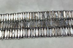 Metal Ellipse Sequin Trim - Wide