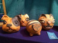 Ceramic piggie banks by Cassie and Aren Vandenburgh Holiday Market, Cassie, Piggy Bank, Banks, Gift Guide, Lovers, Ceramics, Gifts, Animals