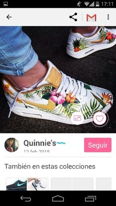 watch 714ed a57fa Floral print Sneakers Style, Floral Sneakers, Nike Sneakers, High Top  Sneakers, Sneakers